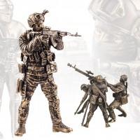 Солдатики из бронзы
