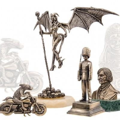 Бронзовые статуэтки