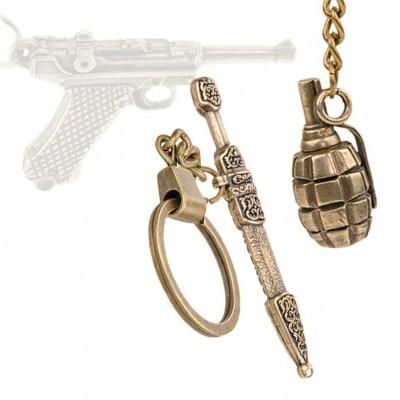 Брелоки с моделями личного оружия