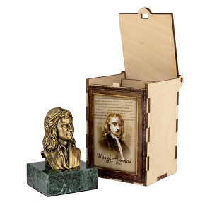 Бюст Исаак Ньютон