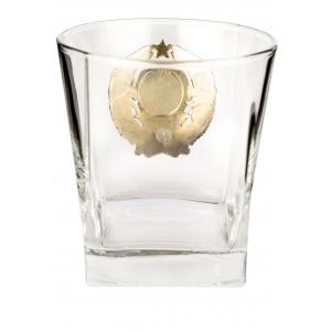 Коллекционный сувенирный набор стаканов Герб СССР(6шт.)