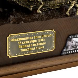 ДИОРАМА БОЙ НА РЕКЕ СОММЕ 1/35