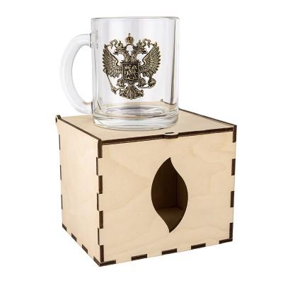 КРУЖКА Герб РФ коллекционная сувенирная