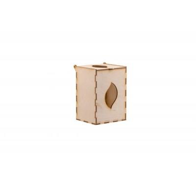 Упаковочная коробка из трехслойного березового шпона с прорезью