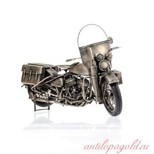 Мотоцикл Harley Davidson WLA-42 1/9 Military