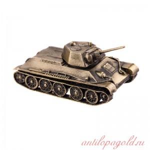 Модель танка Т-34/76 образца 1943 г(1:72)