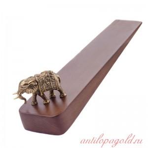 Подставка под дверь Слон