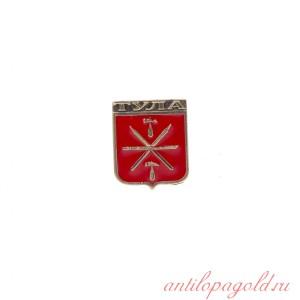 Значок Тула герб