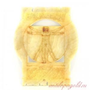 Репродукция рисунка Леонардо да Винчи Витрувианский человек