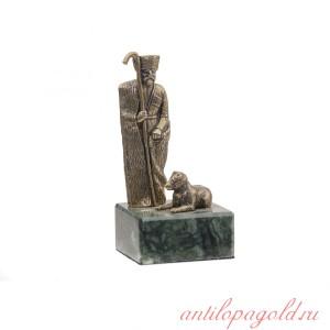 Статуэтка Пастух с собакой