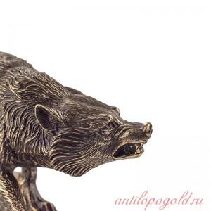 Статуэтка Волк на подставке
