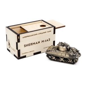 ТАНК SHERMAN M4A1 1:72