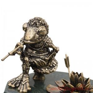 Композиция Царевна-лягушка с кувшинкой