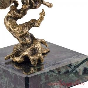 Статуэтка Ворон на коряге