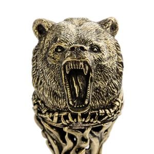 ТРОСТЬ - ФЛЯЖКА медведь
