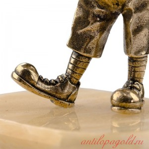 Статуэтка Клоун на натуральном камне