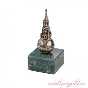 Статуэтка Московский Кремль на камне