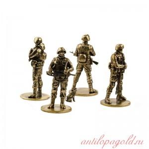 Набор солдатиков Вежливая армия(4шт, 1:35)