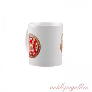 Коллекционная сувенирная кружка с обережным символом Велес