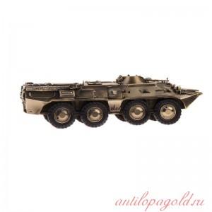 Модель бронетранспортёра БТР-80(1:35)