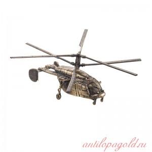 Модель вертолёта КА-226Т(1:100) на подставке