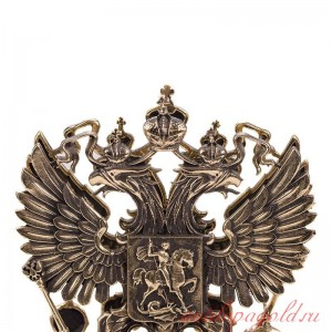 Настольная визитница Герб РФ