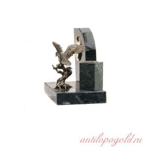 Настольный набор с часами Орел на коряге