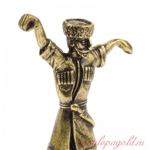 Статуэтка Горец в танце на камне