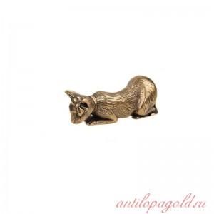Статуэтка Кошка с бантиком