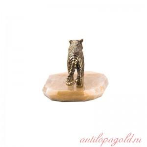 Статуэтка Тигр на ониксе