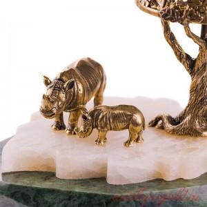 Светильник Носорог и носорожек