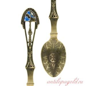 Коллекционная сувенирная ложка Останкино