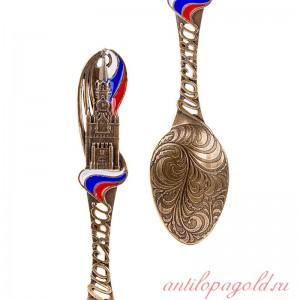 Коллекционная сувенирная ложка Москва