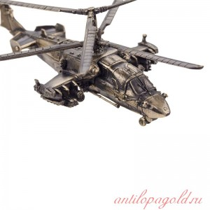 Вертолёт КА-52 Аллигатор(1:100) на подставке