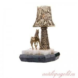 Светильник с башней Конь