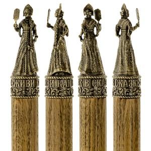 Коллекционный сувенирный набор шампуров Сказка