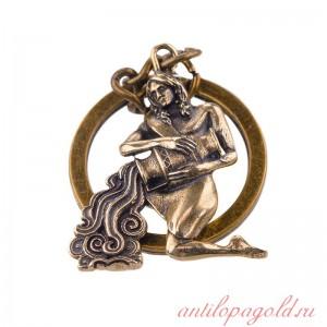 Брелок Фигурка зодиака Водолей
