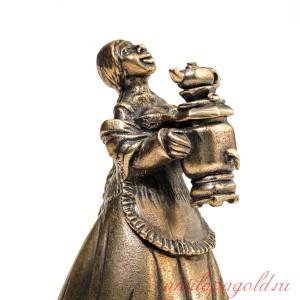 Колокольчик Девушка с самоваром