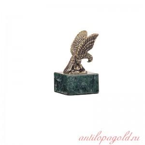 Статуэтка Орел маленький на змеевике