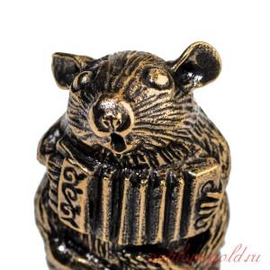 Напёрсток Мышь с баяном