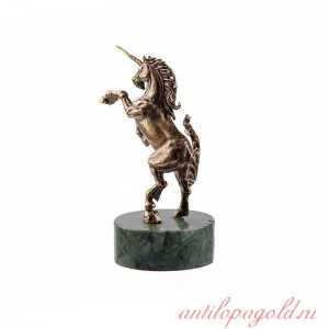 Статуэтка Единорог на камне