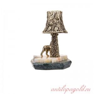 Светильник с башней Лев