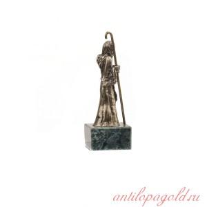 Статуэтка Старец на натуральном камне