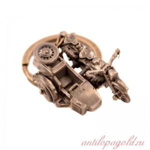 Брелок Мотоцикл с коляской