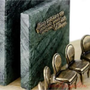 Подарочный настольный набор 12 стульев