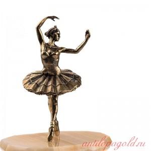 Статуэтка Балерина на натуральном камне
