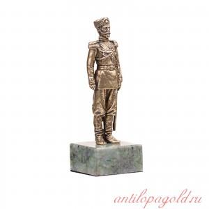 Статуэтка Николай II на подставке