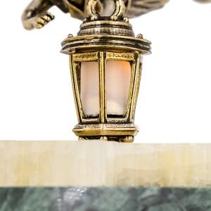 Композиция Эльф летящий с подсветкой