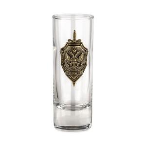 Набор рюмок герб ФСБ (длинные)