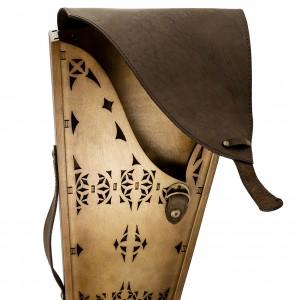 Коллекционный сувенирный набор шампуров (12шт.) с наконечником Кавказский зодиак